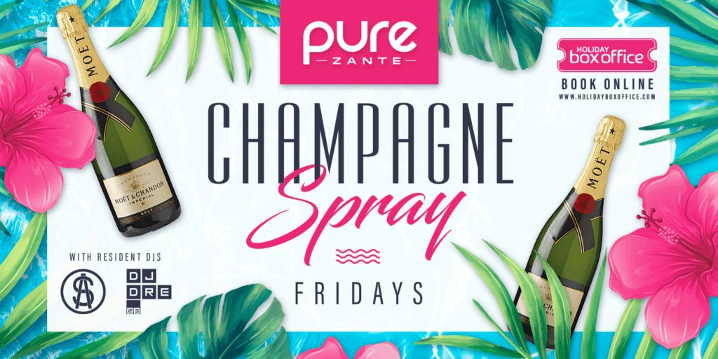 Champagne Spray Pure Zante