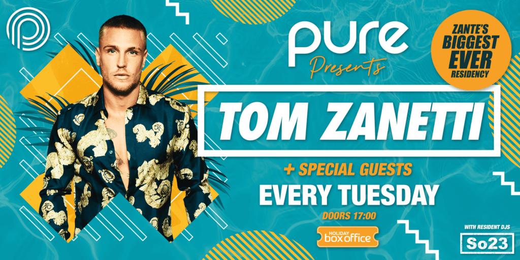Pure presents Tom Zanetti
