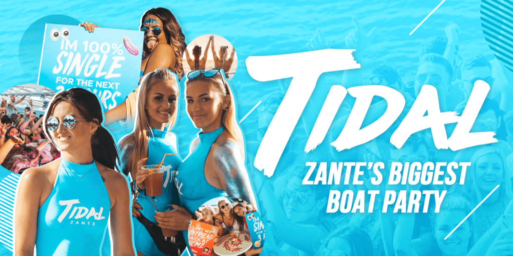 tidal zant's number 1 boat Party